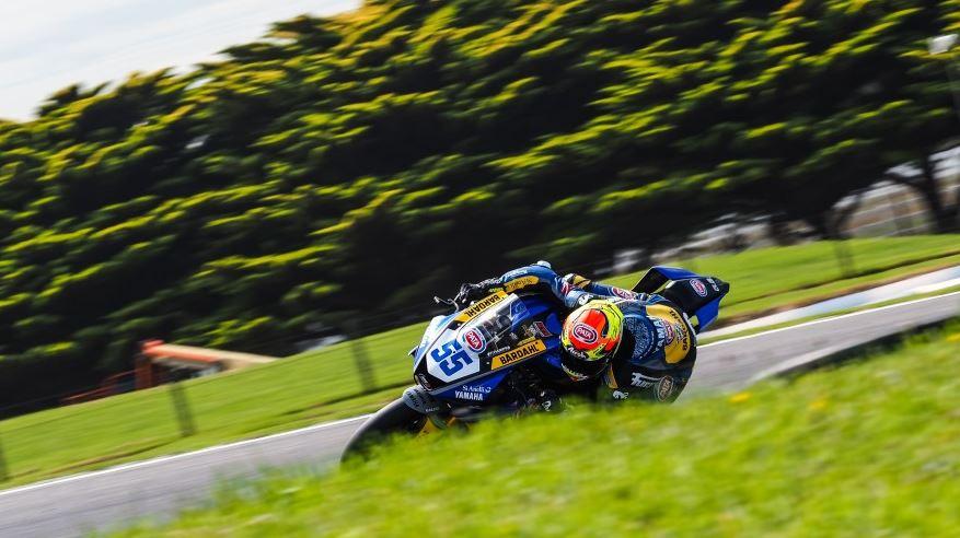 Supersport, Locatelli in azione in Australia