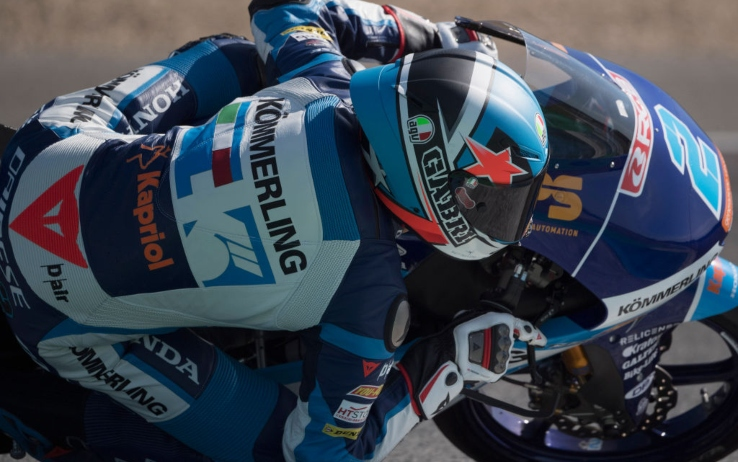 Moto3, Rodrigo in azione