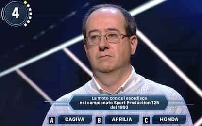 Sky Sport Quiz: vince Claudio tifoso di Vale Rossi