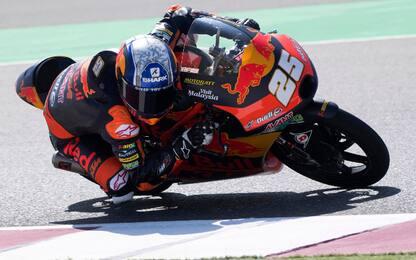 Libere Moto3, Fernandez il più veloce. 6° Arbolino