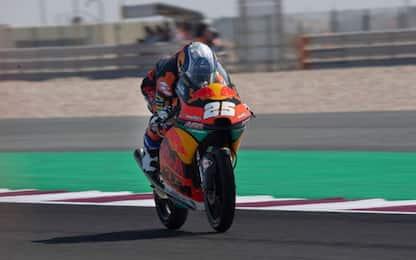 Moto3, Libere 3: a Losail Fernandez resta 1°