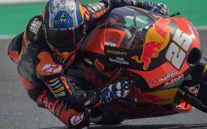 Libere Moto3: 1° Fernandez, 2° Fenati, 3° Arenas