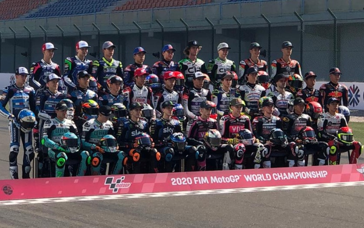 "Moto3, la ""foto di classe"" in Qatar"