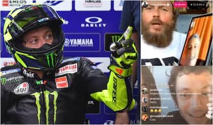 """Rossi, chat con Jova: """"Il virus, il Sic, i cani"""""""