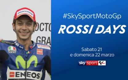 """""""Rossi days"""": programmazione speciale su Sky"""