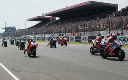 MotoGP, il nuovo calendario: partenza a Le Mans