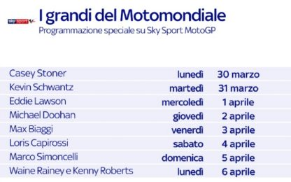 MotoGP days, una settimana per rivedere i campioni