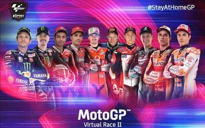 Da Rossi a Petrucci, i 10 piloti del GP virtuale