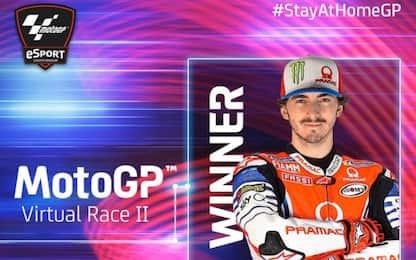 GP Virtuale, Bagnaia trionfa in Austria. 7° Rossi