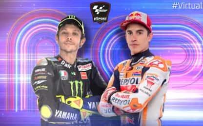 GP di Misano virtuale, ritorna Rossi: la guida tv