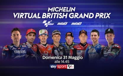 Lorenzo debutta del GP virtuale di Silverstone