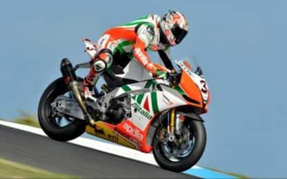 L'Aprilia nel mondiale Superbike