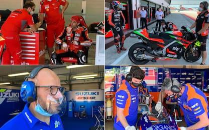 La MotoGP è tornata: test privati a Misano. FOTO