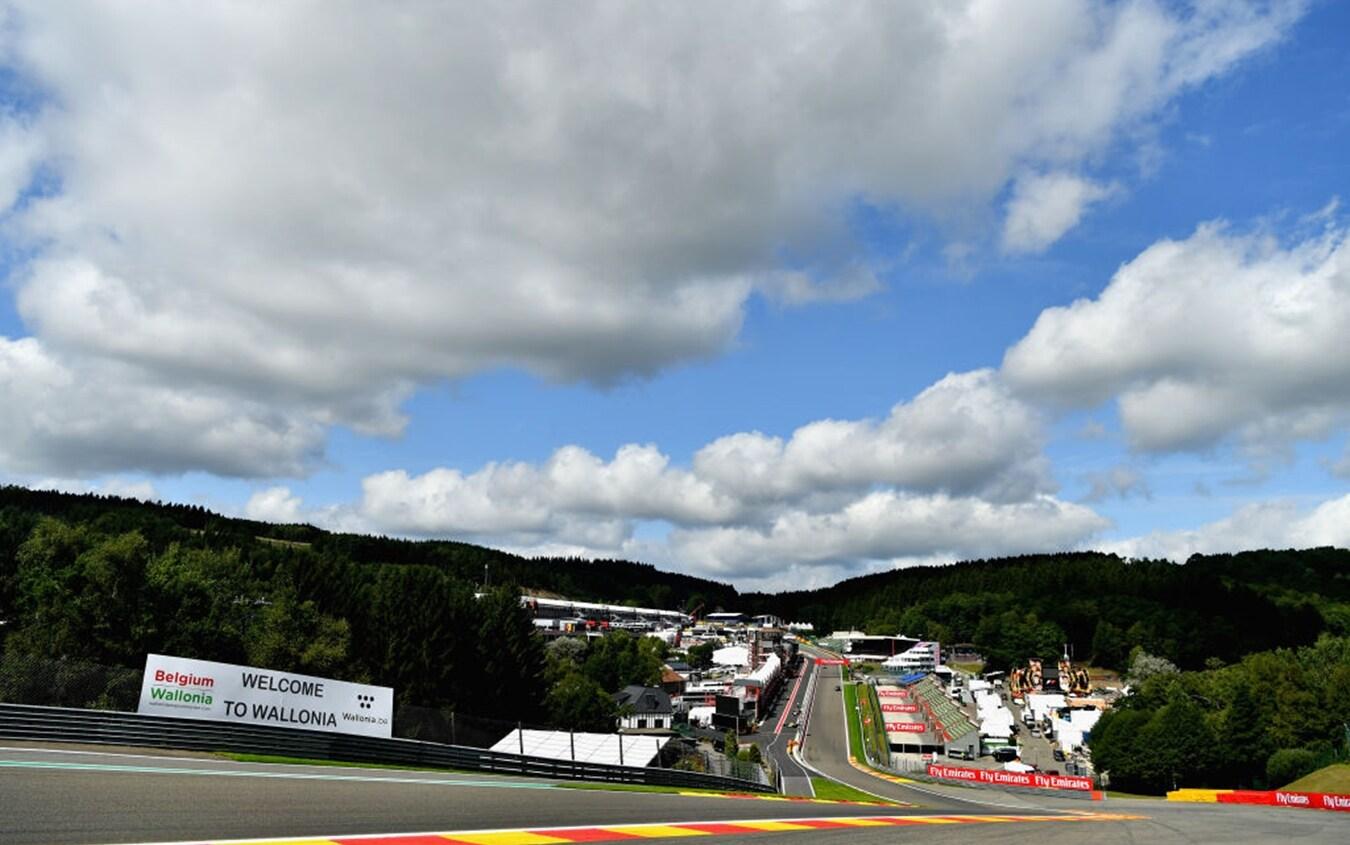 Il circuito di Spa-Francorchamps