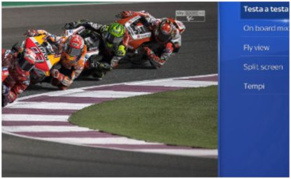 MotoGP su Sky, tecnologia e novità: torna lo show