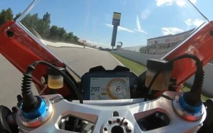 Barcellona on board: Zarco con la Ducati Panigale