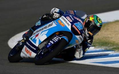 Libere Moto3: Rodrigo è il più veloce, 4° Foggia