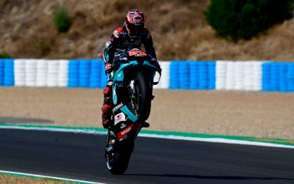 Quartararo insegue quota 100: i numeri di Brno