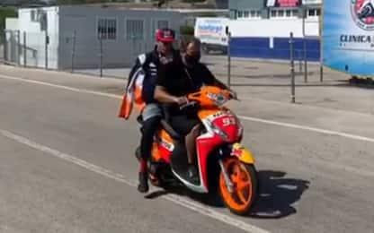 Marquez sarà operato dopo la caduta: salta Jerez 2