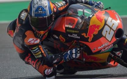 Qualifiche Moto3: Fernandez in pole, 5° Foggia