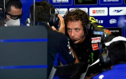 """Rossi: """"Moto nervosa, è come stare su un cavallo"""""""