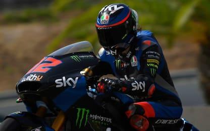 Moto2: prima pole per Bezzecchi, 3° Bastianini