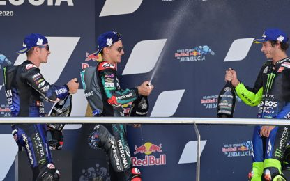 Yamaha, attacco a tre punte a Brno