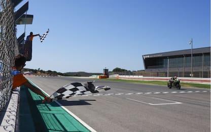 SBK a Portimao, a Rea Superpole Race e Gara-2