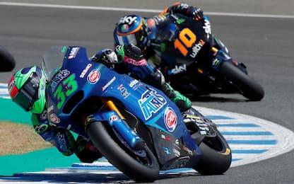 Moto 2, sfida al vertice tra Marini e Bastianini