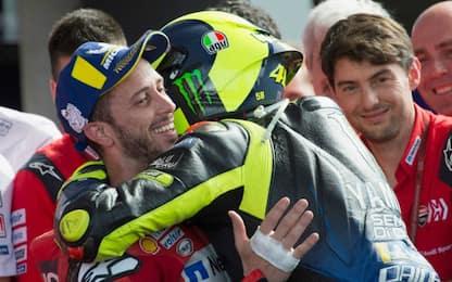 """Dovi-Ducati, Rossi: """"Sorpreso. Chance per Pecco"""""""