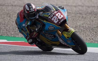 Moto2, pole per Lowes. Marini 11°