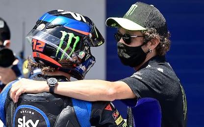 Moto2, con Bezzecchi si celebra il 46