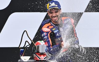 GP Stiria, trionfo di Oliveira. 5° Dovi, 9° Rossi