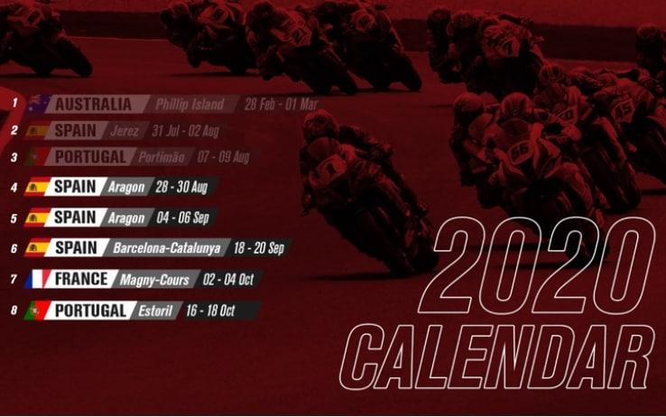 le restanti gare del mondiale Superbike 2020