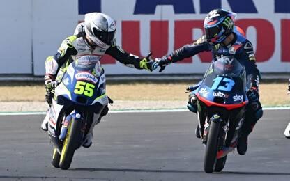 Moto3, doppietta italiana: vince Fenati, 2° Vietti