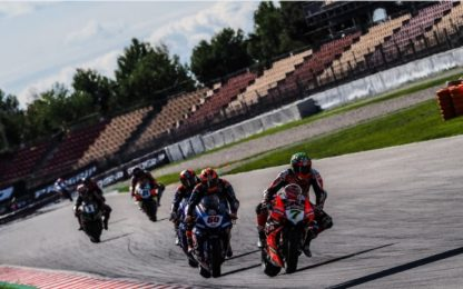 "SBK: gli ""Up & Down"" del weekend di Barcellona"
