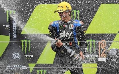 Moto2, capolavoro Marini a Barcellona. 2° Lowes