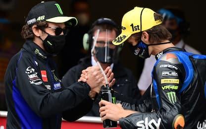 """Rossi: """"Consiglio a Luca di restare in Moto2"""""""