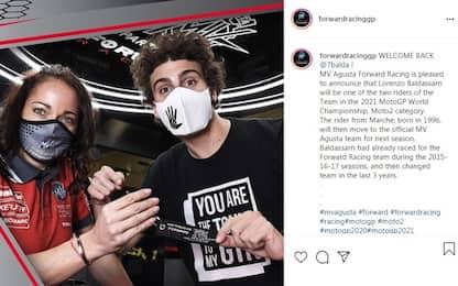 Baldassarri torna alla MV Agusta Forward Racing