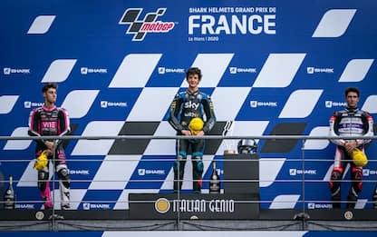 Moto3, doppietta italiana Vietti-Arbolino