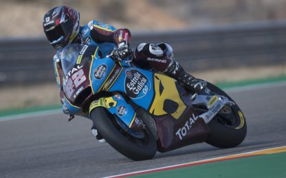 Libere Moto2: 1° Lowes, 4° Di Giannantonio