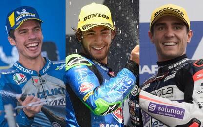 Dalla MotoGP alla Moto3, i tre titoli in bilico