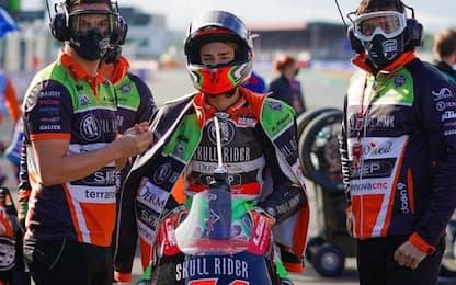 Moto3, Riccardo Rossi positivo: salta il GP Teruel