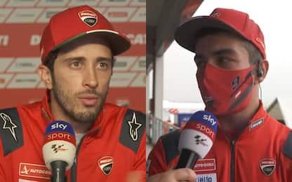 """Dovi e Petrucci: """"Non abbiamo parlato dopo Aragon"""""""