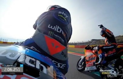 Moto2, che scintille fra Bezzecchi e Martin! VIDEO