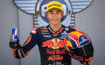 Moto3: Fernandez, pole davanti ad Arbolino-Vietti