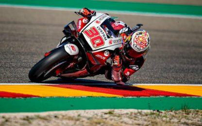 GP Teruel, Nakagami in pole davanti a Morbidelli