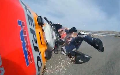 GP Teruel LIVE, caduto Alex Marquez