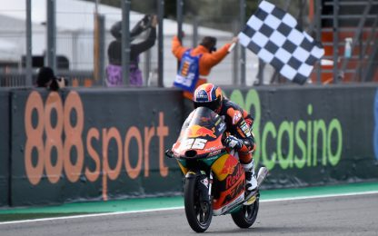Moto2, trionfo di Fernandez. Moto3, 1° Acosta