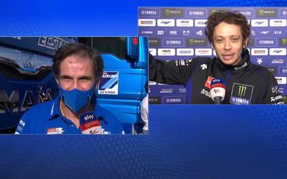 """Rossi: """"Giù il cappello, è grande Suzuki"""". VIDEO"""
